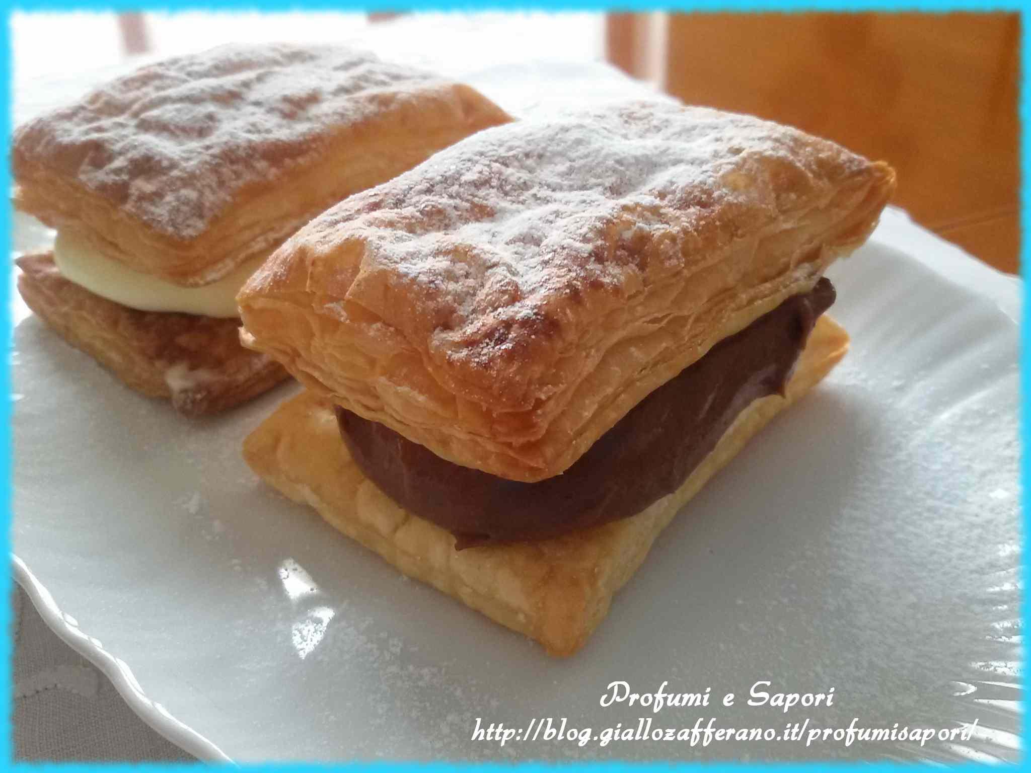 Ricetta: Millefoglie al cioccolato e crema chantilly