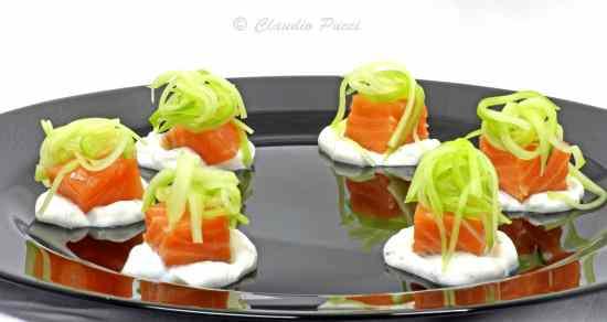 Ricetta: Salmone cotto a 40°C con salsa yogurt
