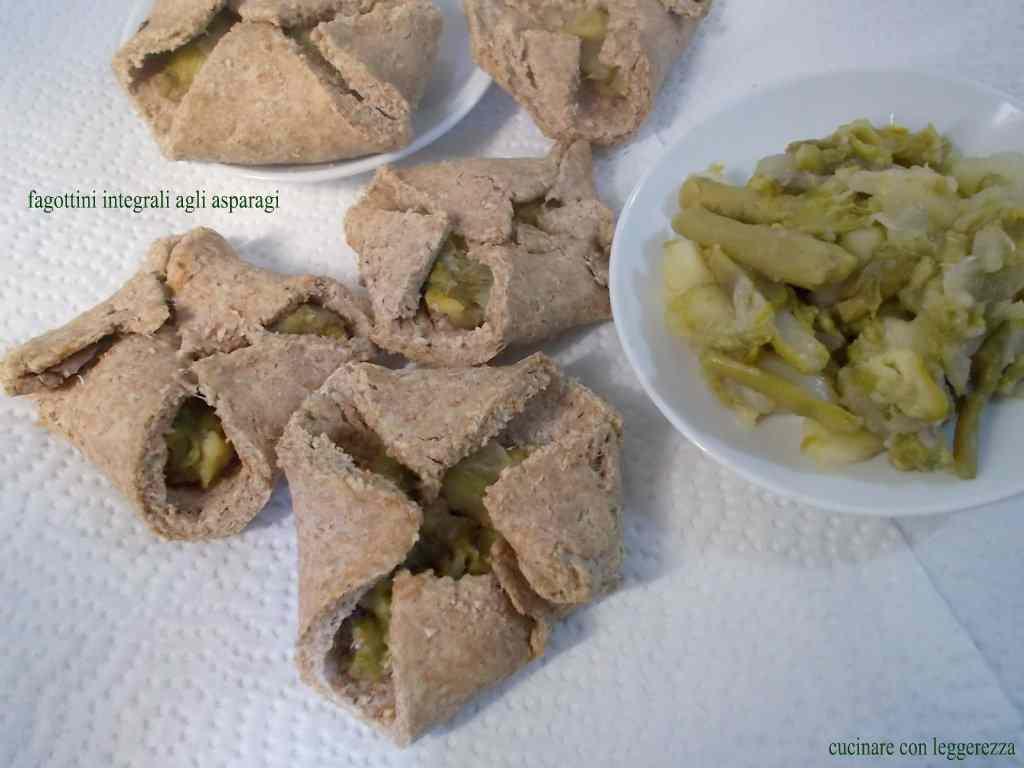 Ricetta: Fagottini integrali agli asparagi