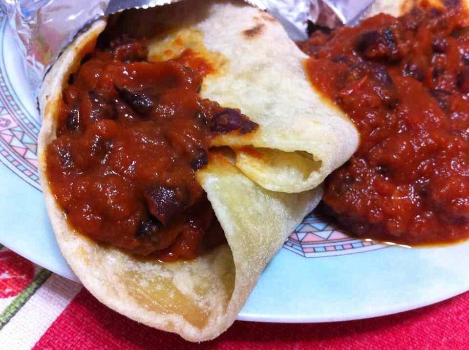 Ricetta: Tortillas con fagioli neri alla messicana