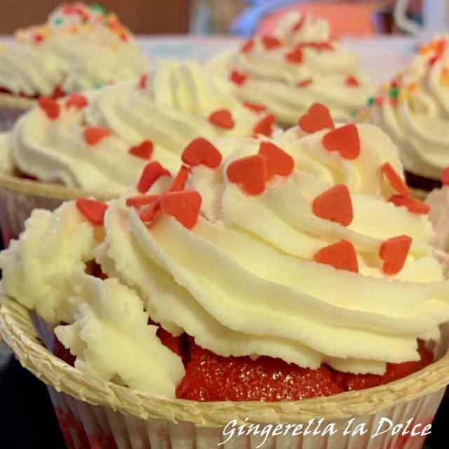 Ricetta: Red velvet cupcakes