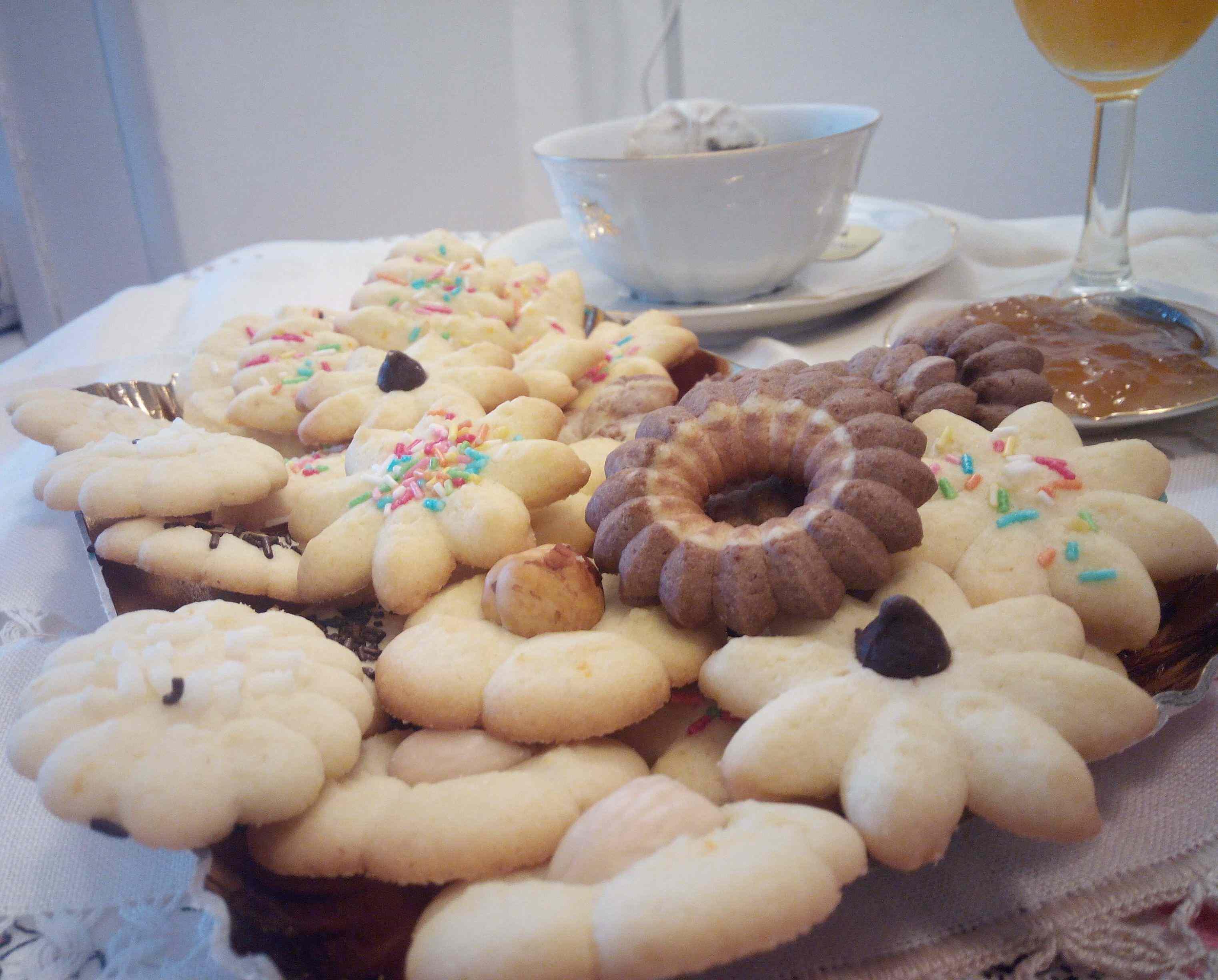 Ricetta: Biscottini da the