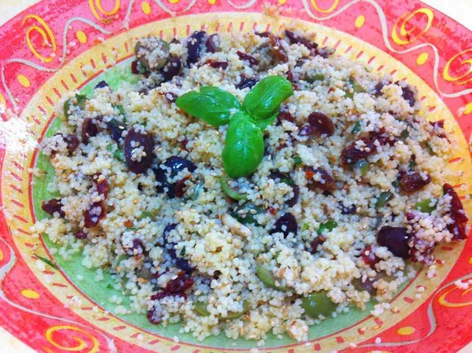Ricetta: Insalata di couscous mediterranea