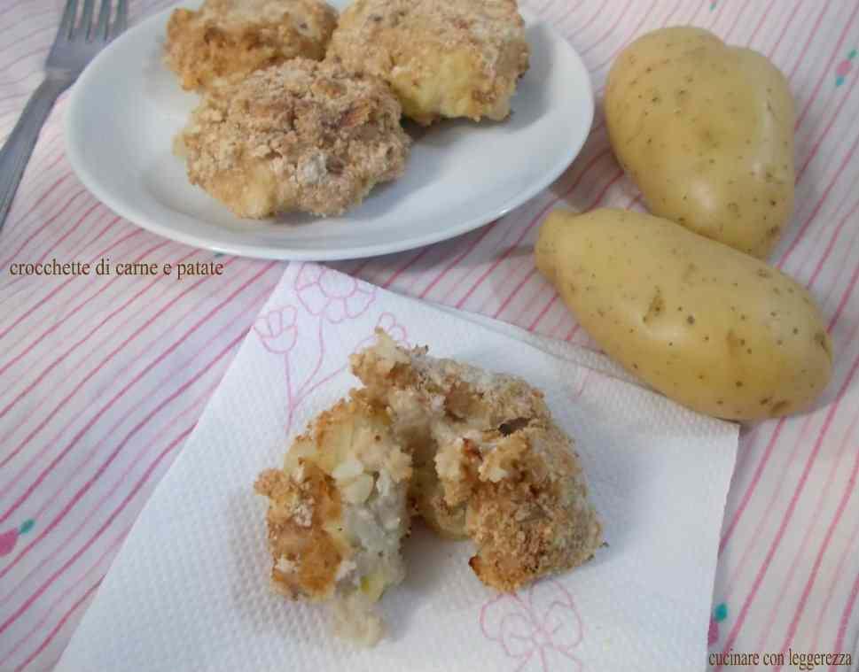 Ricetta: Crocchette di carne e patate