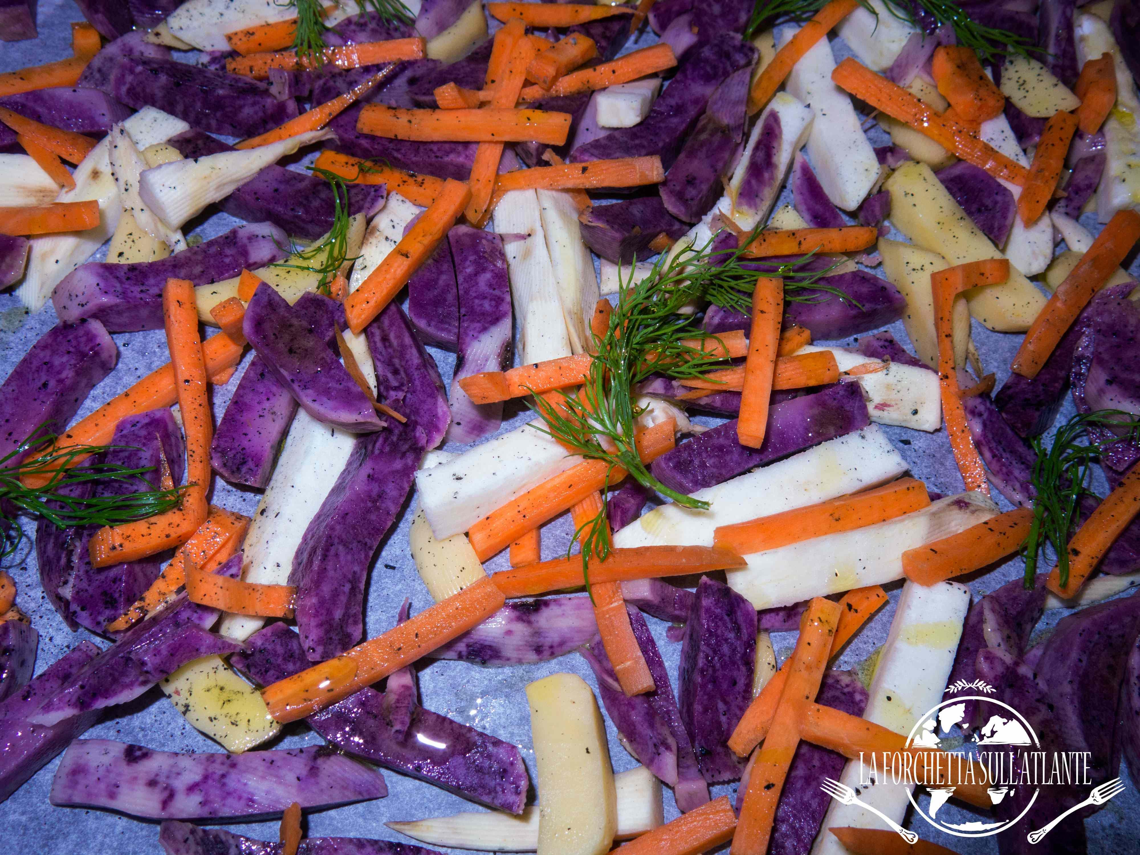 Ricetta: Stick di verdure al forno