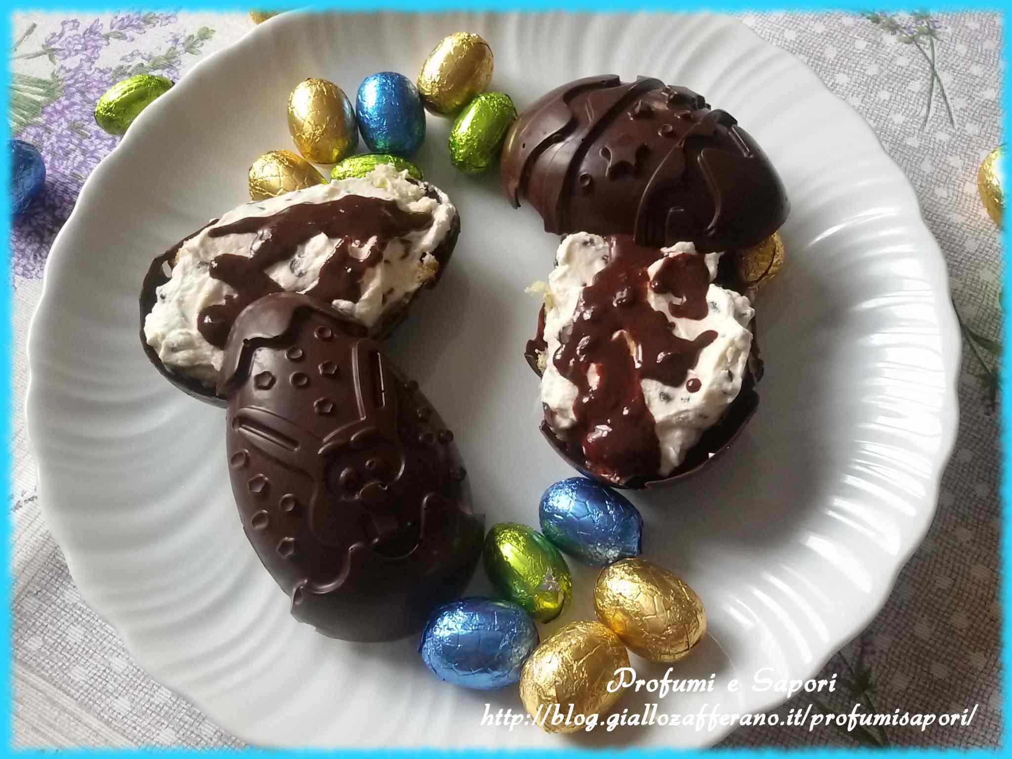Ricetta: Colomba alle crema nell'uovo