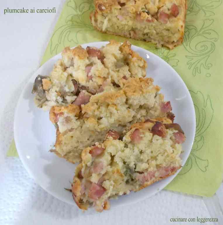 Ricetta: Plumcake ai carciofi