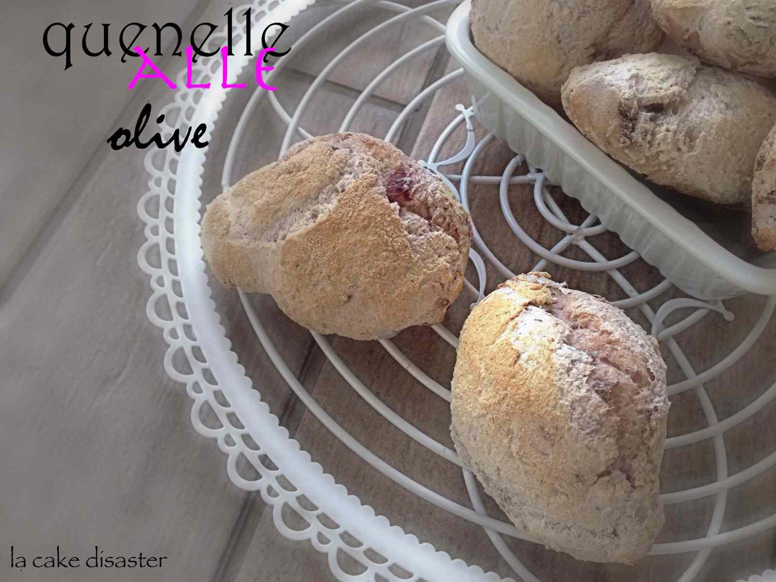 Ricetta: Quenelle alle olive gluten free