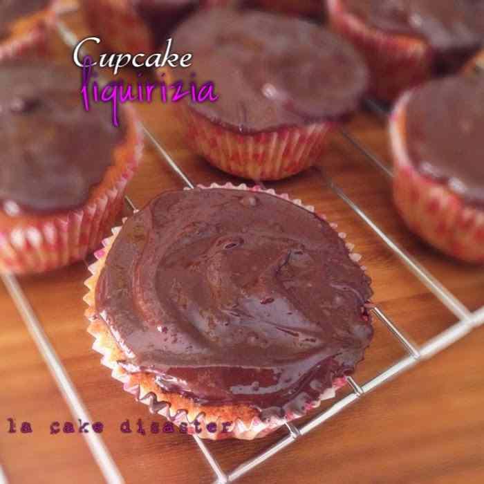 Ricetta: Cupcake alla liquirizia