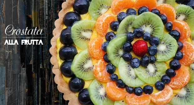 Ricetta: Crostata alla frutta