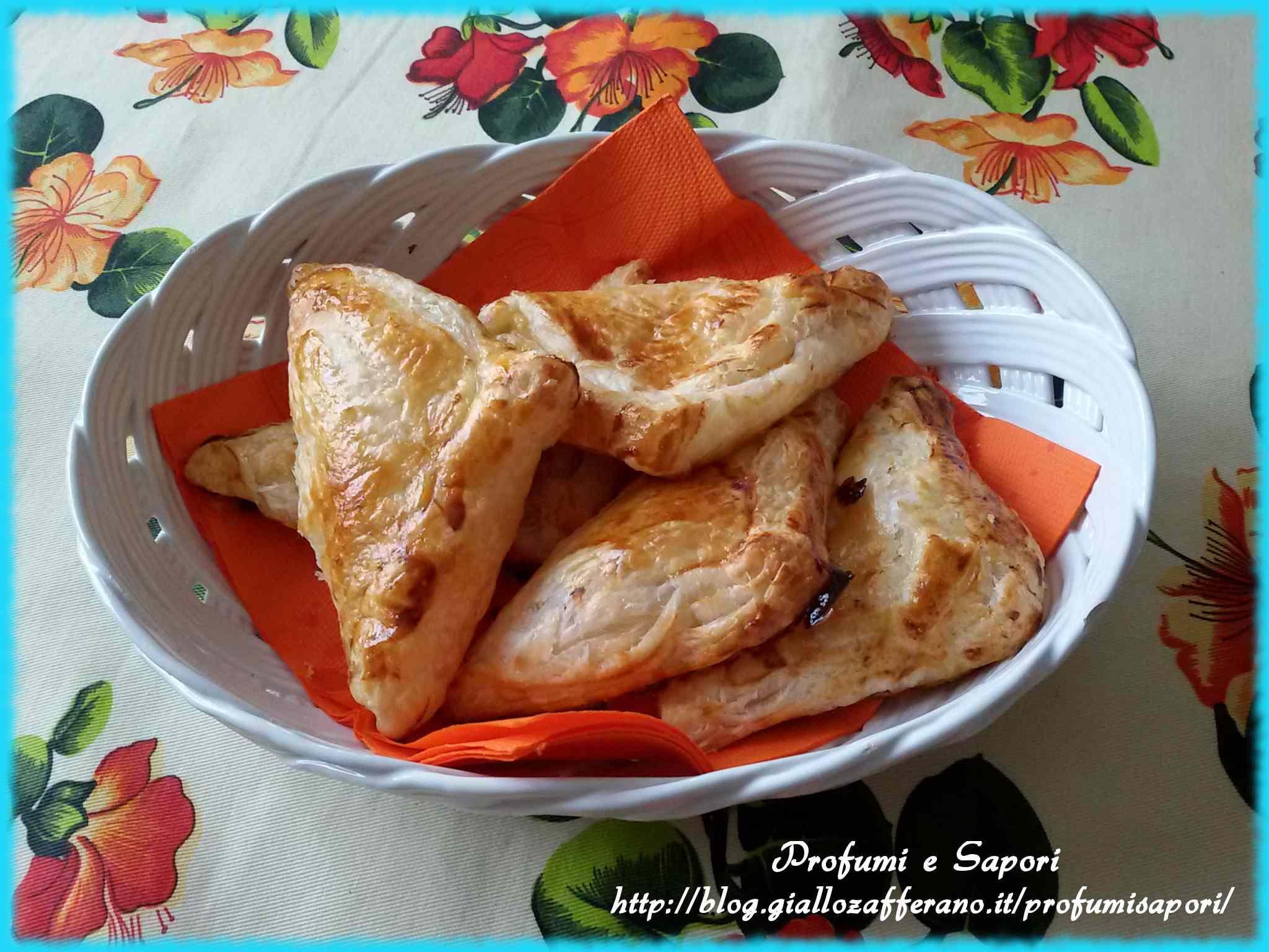 Ricetta: Sfogliette ripiene con ricotta e marmellata