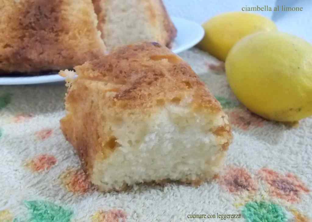 Ricetta: Ciambella al limone