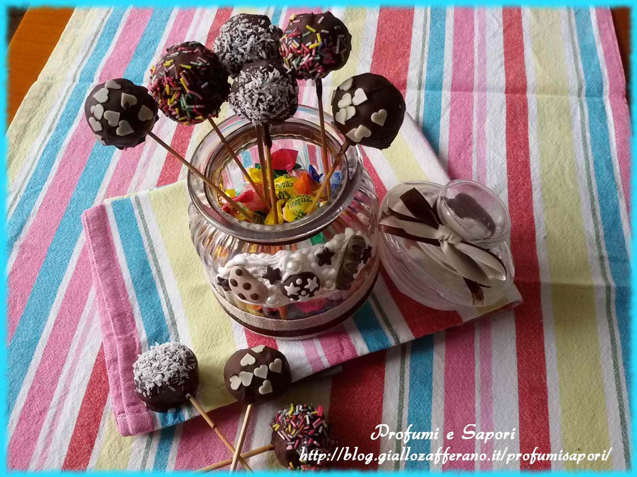 Ricetta: Cake pops alla nutella