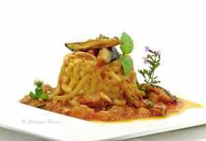 Ricetta: Sformatino di maccheroncini alla siciliana