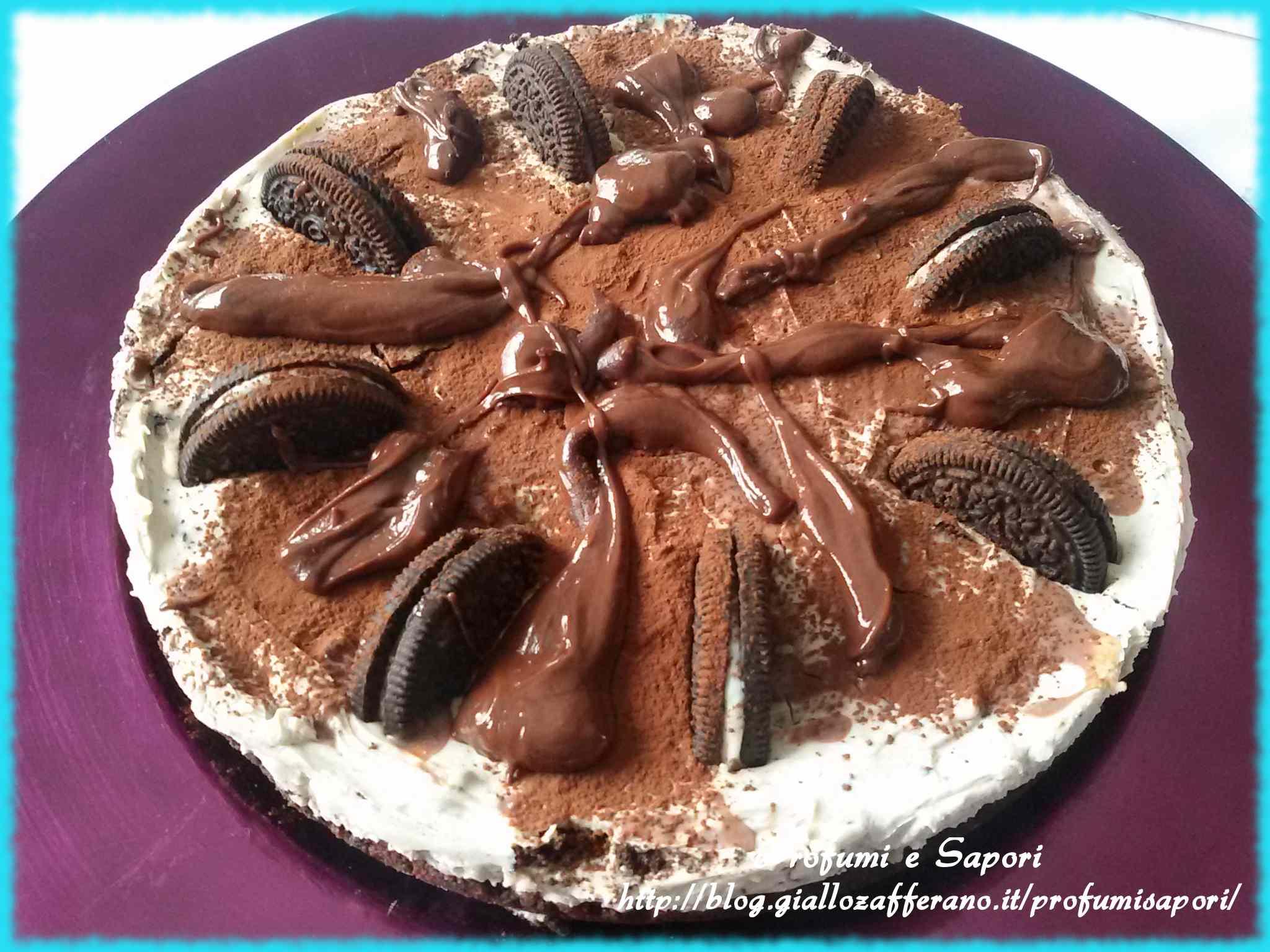Ricetta: Cheesecake agli oreo e nutella