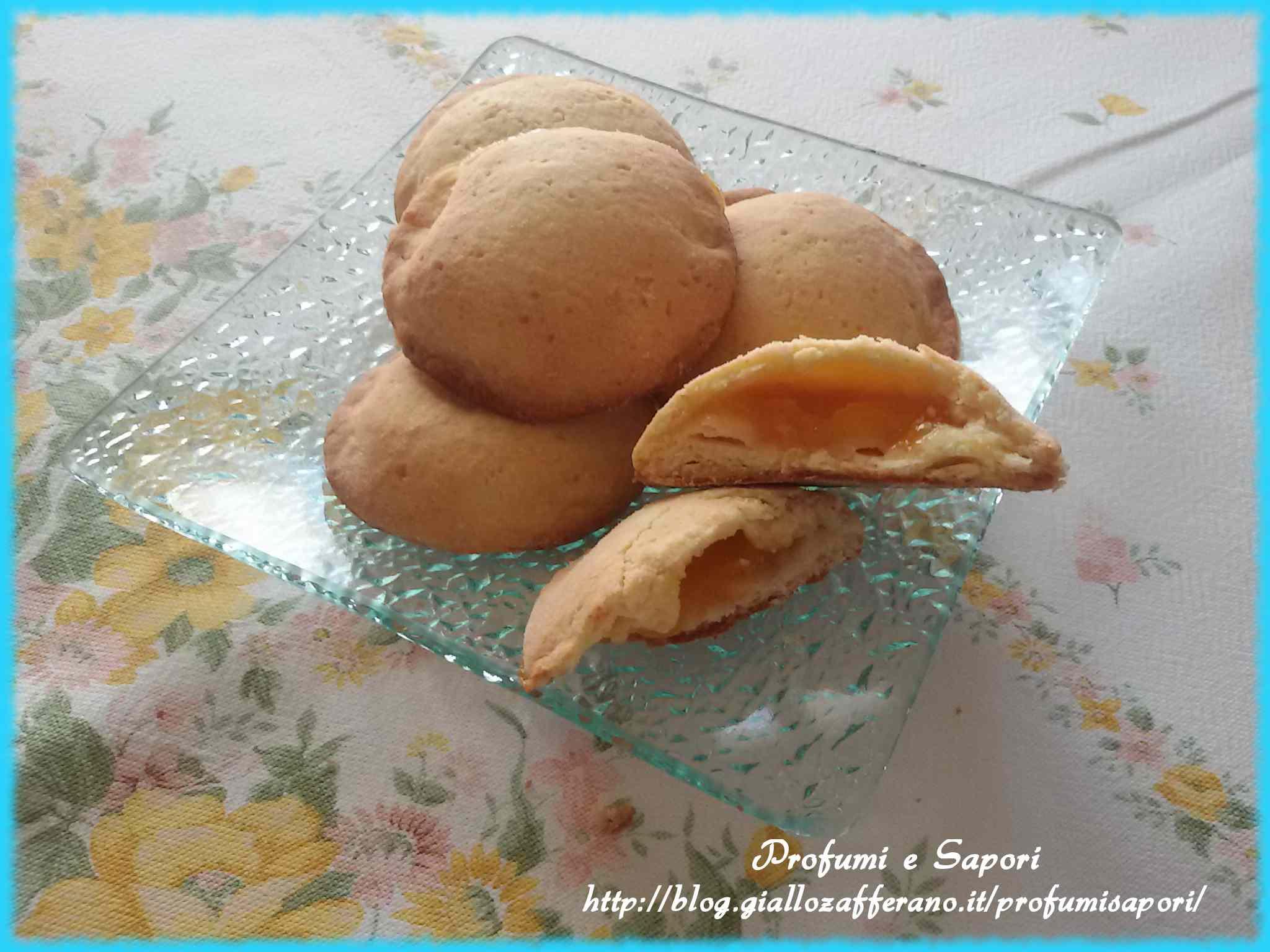 Biscotti cuore di marmellata