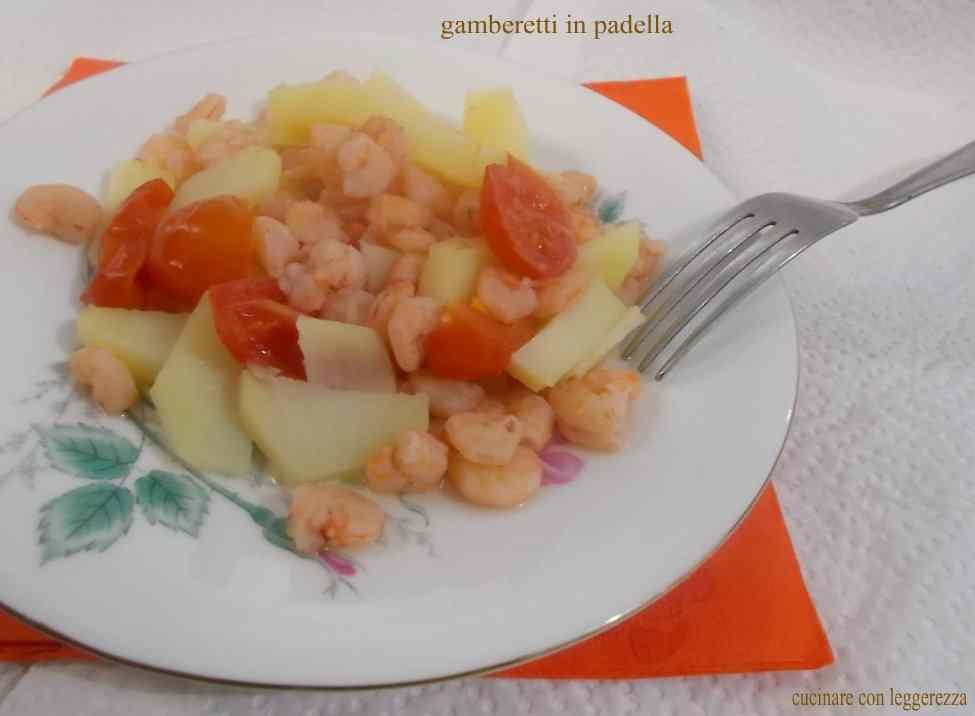 Ricetta: Gamberetti in padella