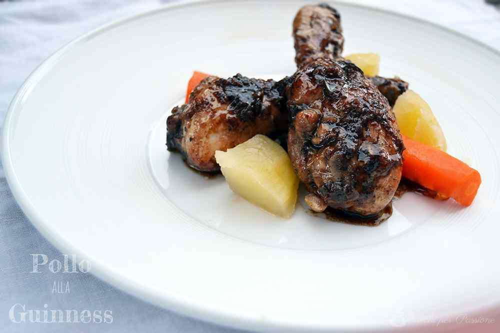 Ricetta: Pollo alla Guinness