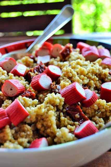 Ricetta: Couscous di pesto rosso e tonno