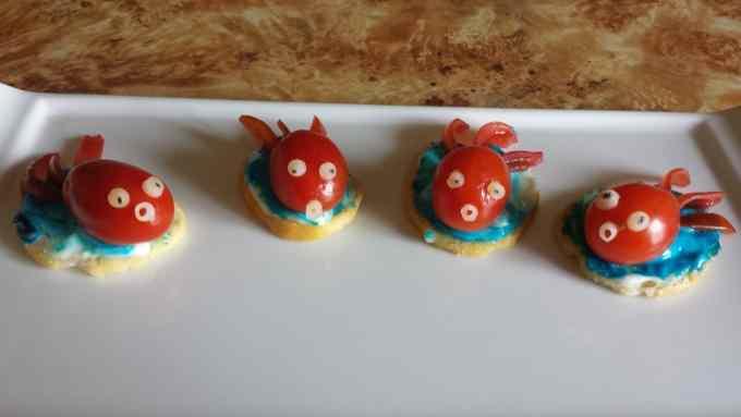 Pesciolini di pomodorini