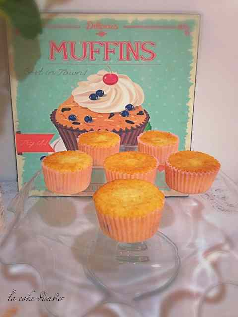 Ricetta: Cupcake quattro quarti cocco e mirtilli rossi
