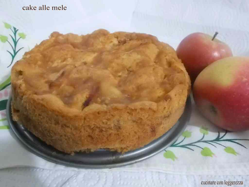 Cake alle mele