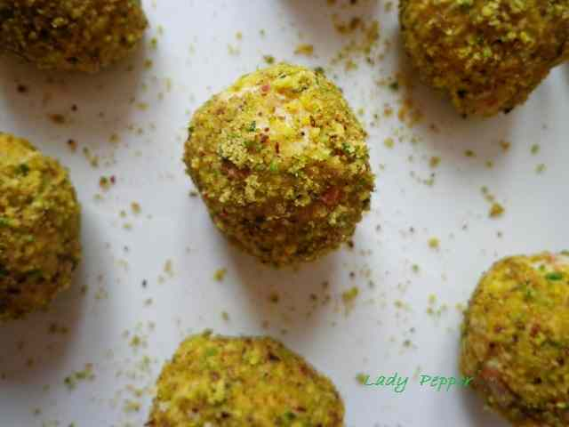 Palline al pistacchio