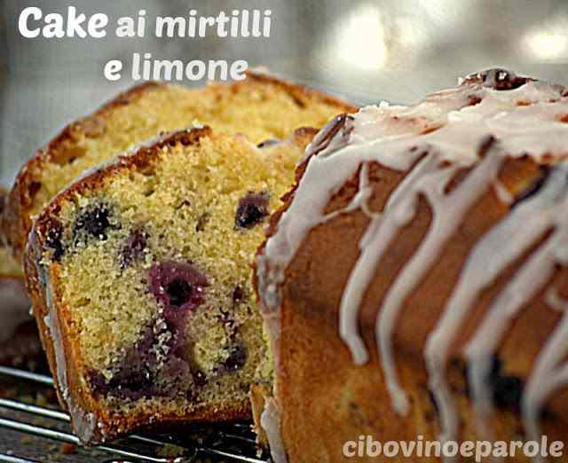 Ricetta: Cake ai mirtilli e limone