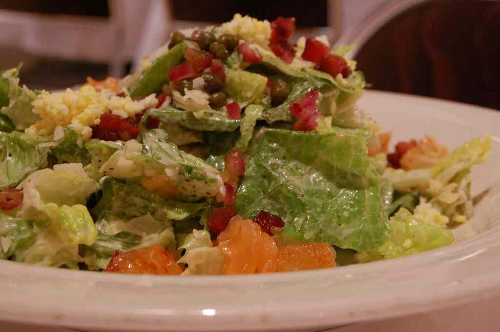 Ricetta: Salmon Caesar Salad
