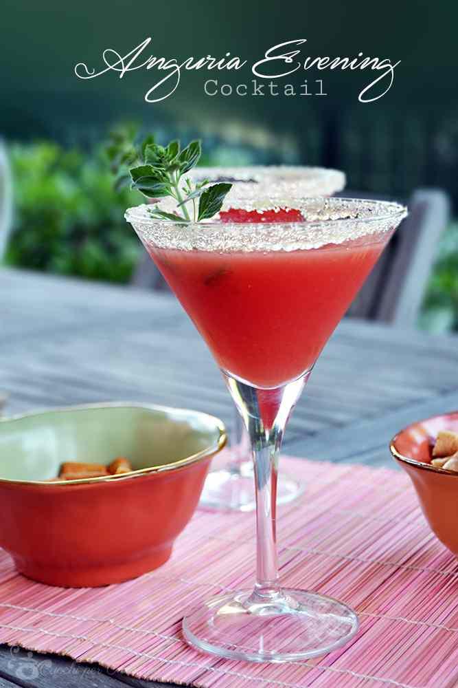 Ricetta: Anguria evening cocktail
