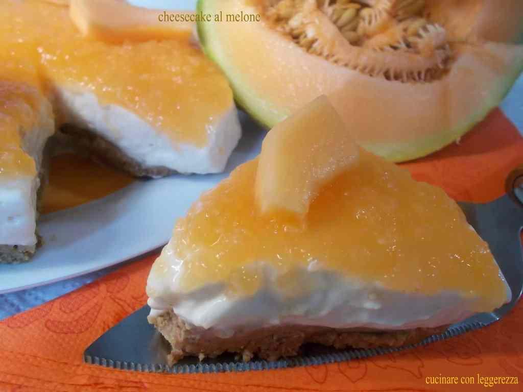 Ricetta: Cheesecake al melone