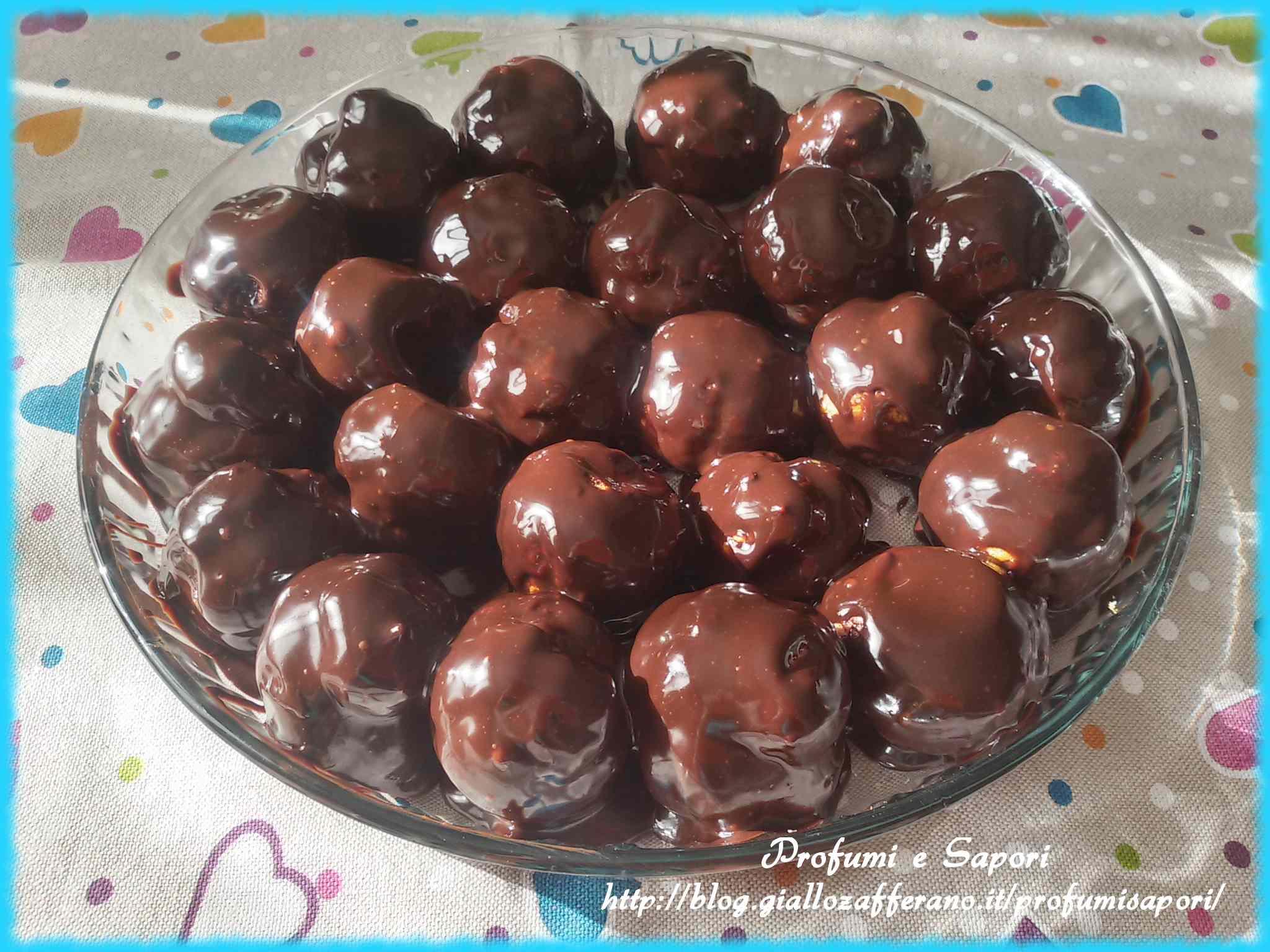 Ricetta: Profiteroles al cioccolato