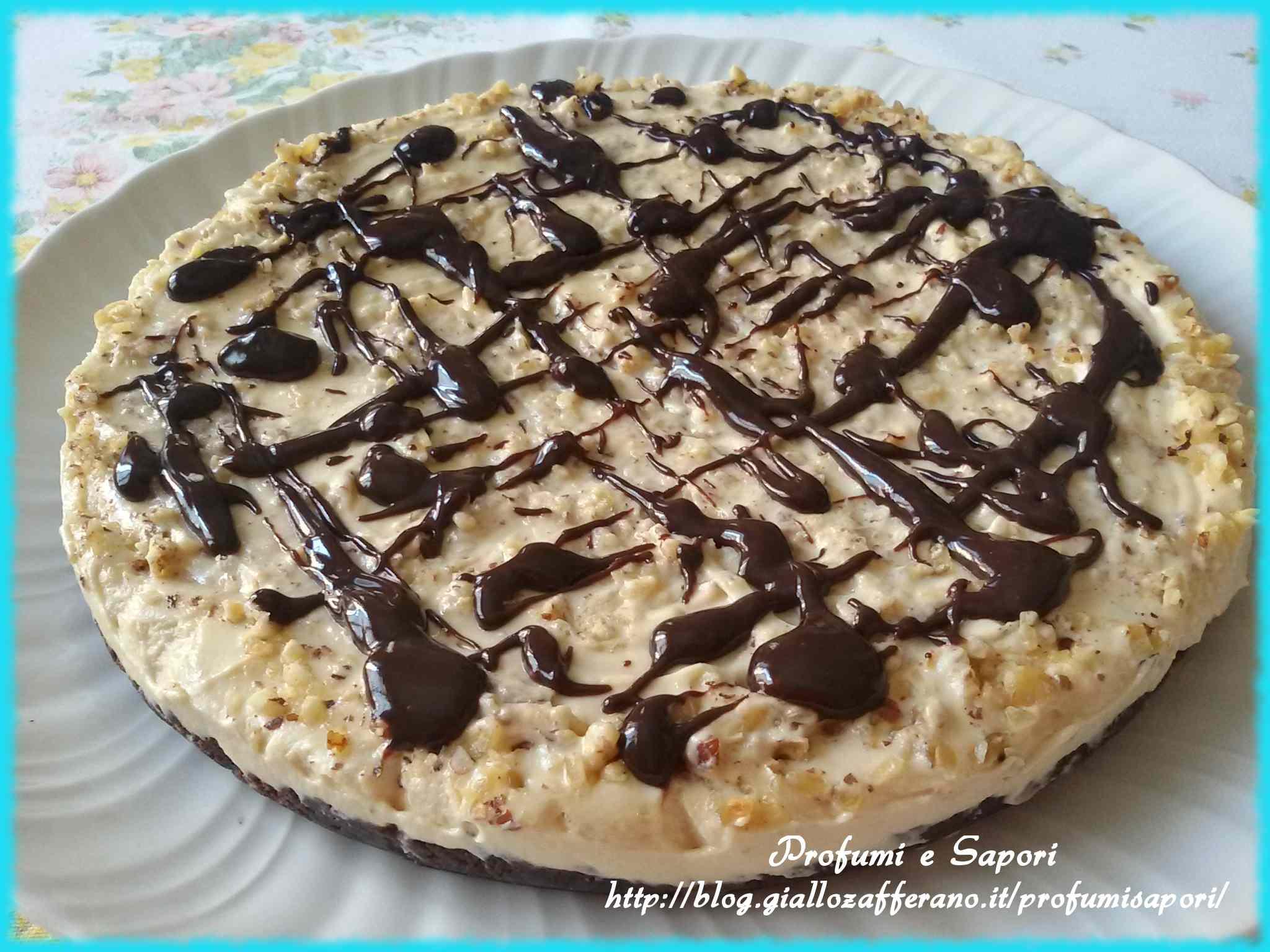 Ricetta: Cheesecake alle nocciole e cioccolato