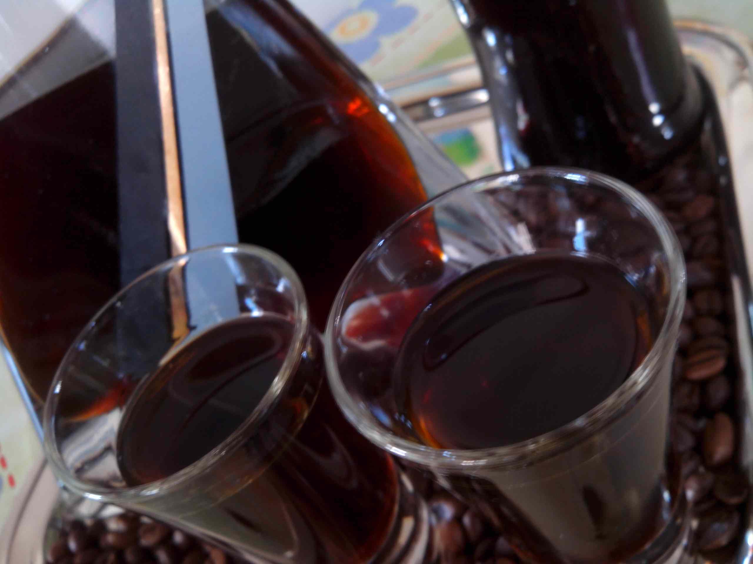 Liquore al caffè di nonna Libera