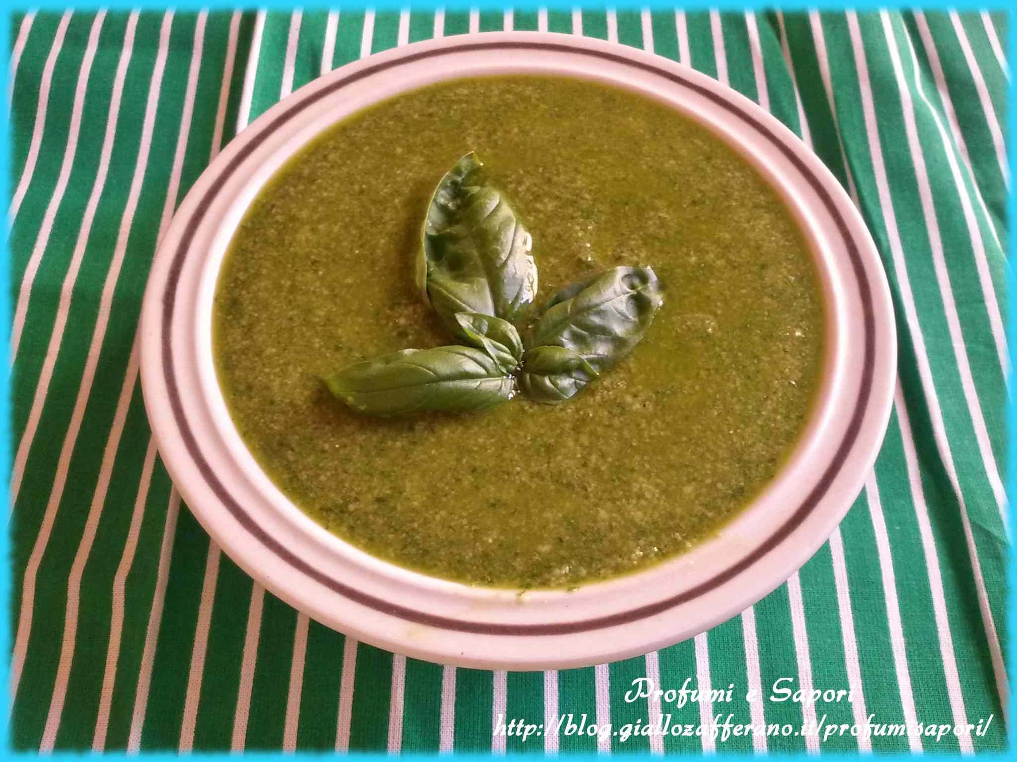Ricetta: Pesto di basilico