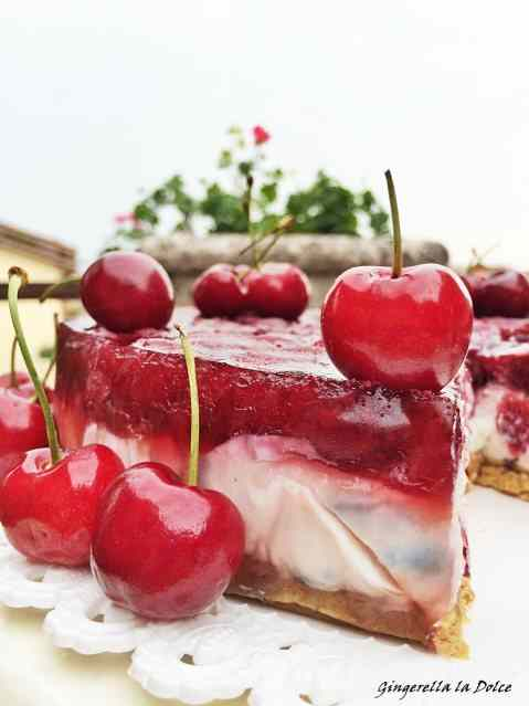 Ricetta: Cheesecake alle ciliegie