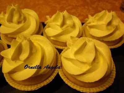 Ricetta: Cupcakes alla crema di limoncello