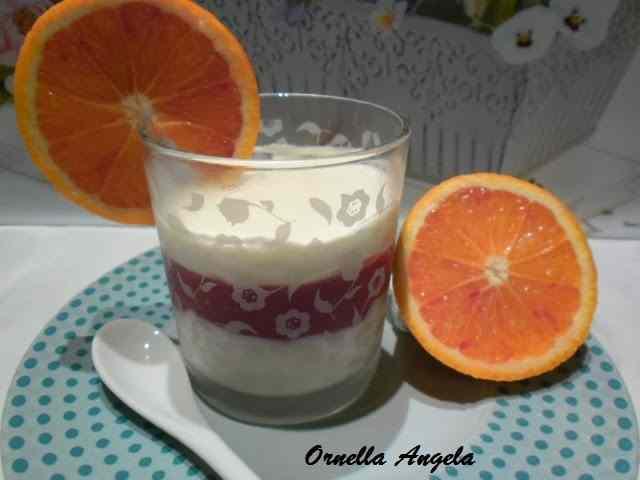 Ricetta: Crema al cioccolato bianco e gelatina d'arancia