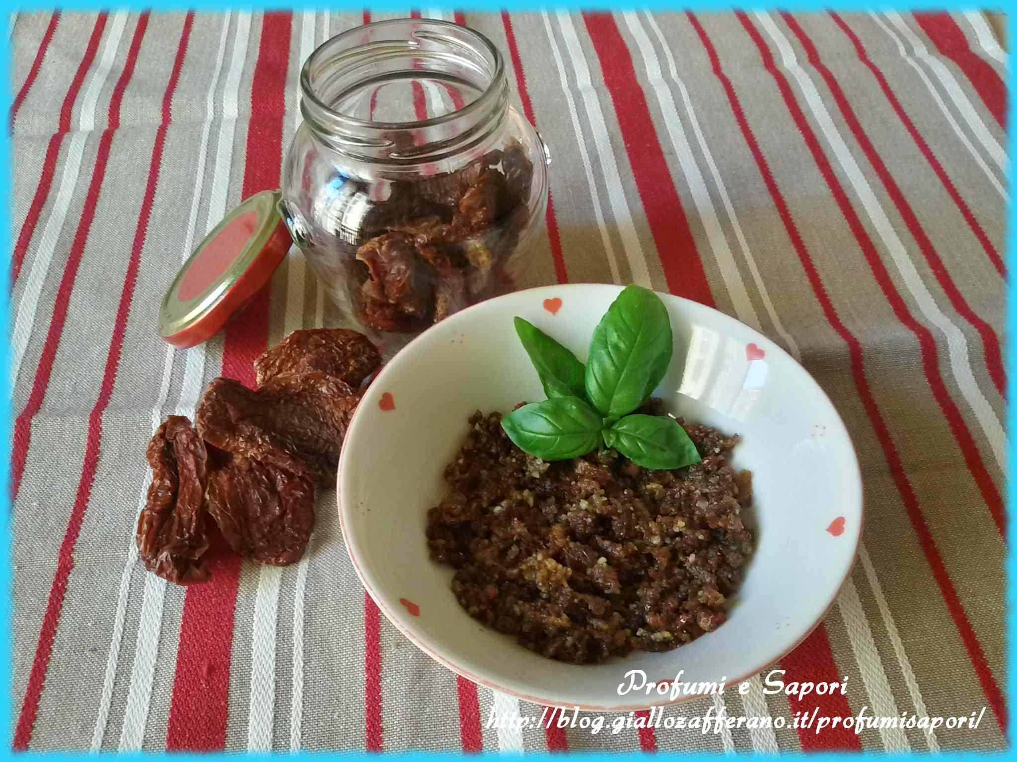 Ricetta: Pesto rosso di pomodori secchi