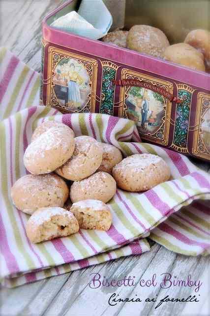 Ricetta: Biscotti col Bimby con limone e grappa