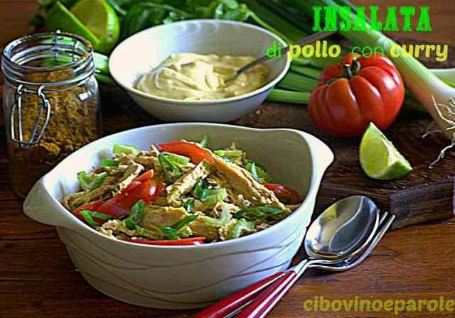 Ricetta: Ricetta dell'insalata di pollo con curry