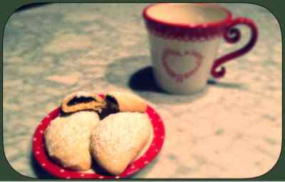 Biscottoni ripieni di cioccolato