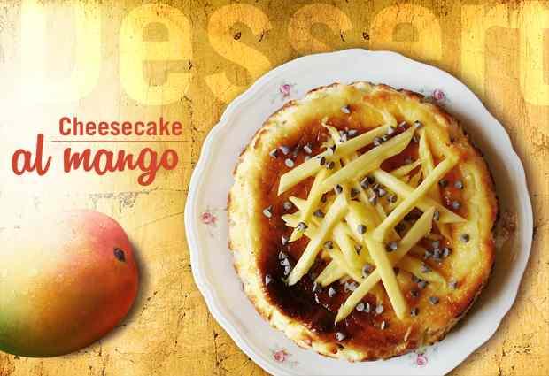 Ricetta: Cheesecake al mango