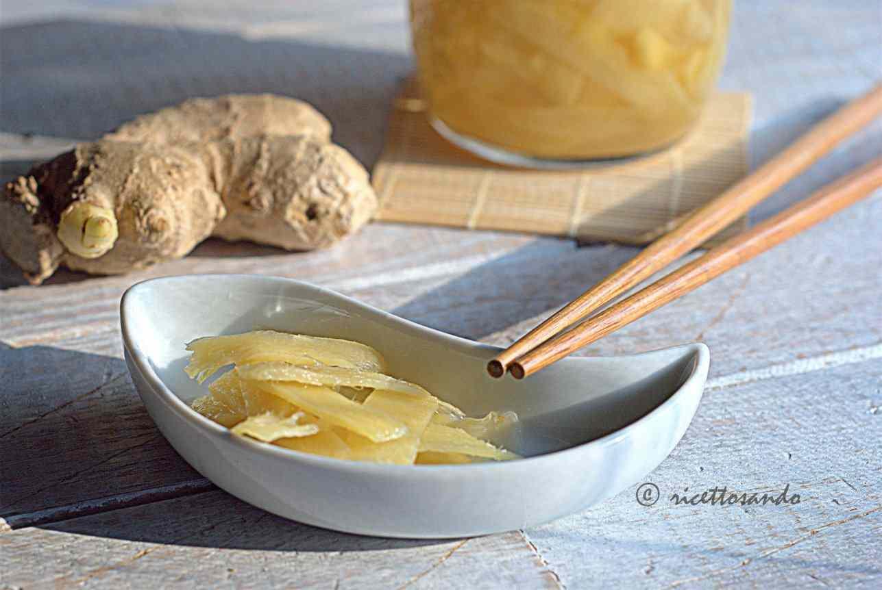 Ricetta: Gari, zenzero in agrodolce ricetta giapponese