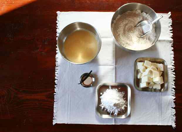 Ricetta: Pasta frolla fine per fondi con zucchero a velo e tuorli