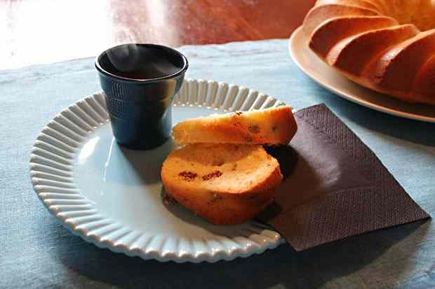 Ricetta: Ciambellone tradizionale con uvetta