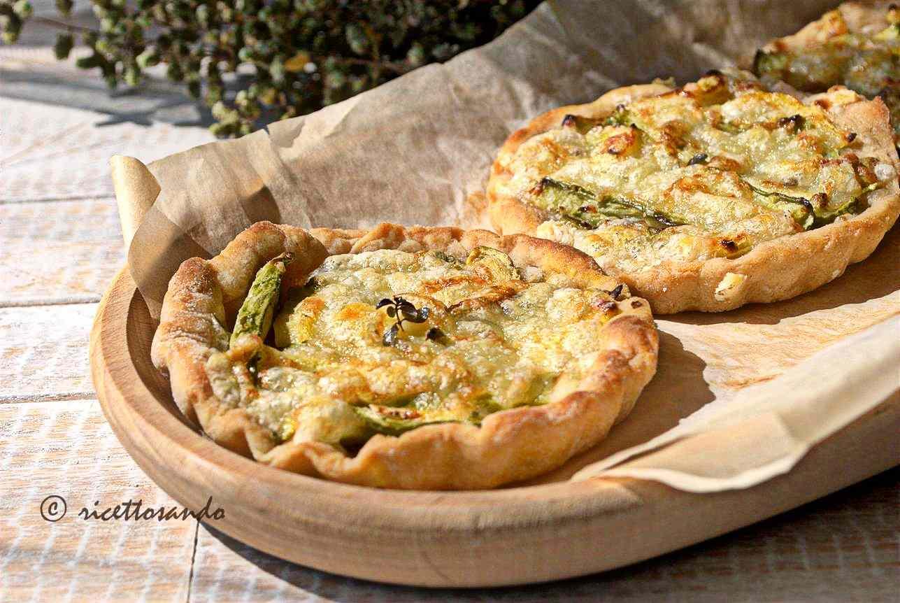 Ricetta: Lepizzottine pizzette di farro alle zucchine