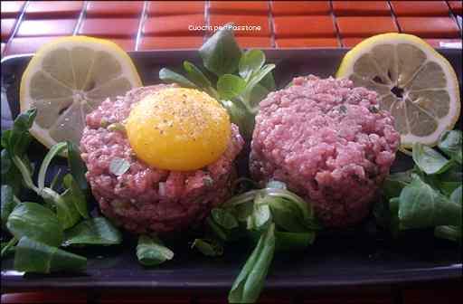 Ricetta: Tartare di Carne (bistecca alla tartara)