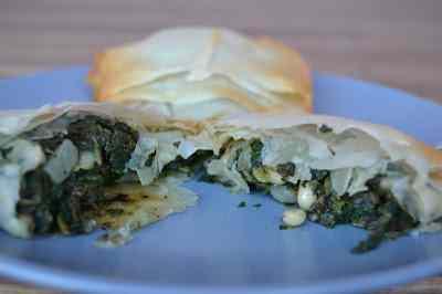 Ricetta: Fagottini libanesi di spinaci e pinoli