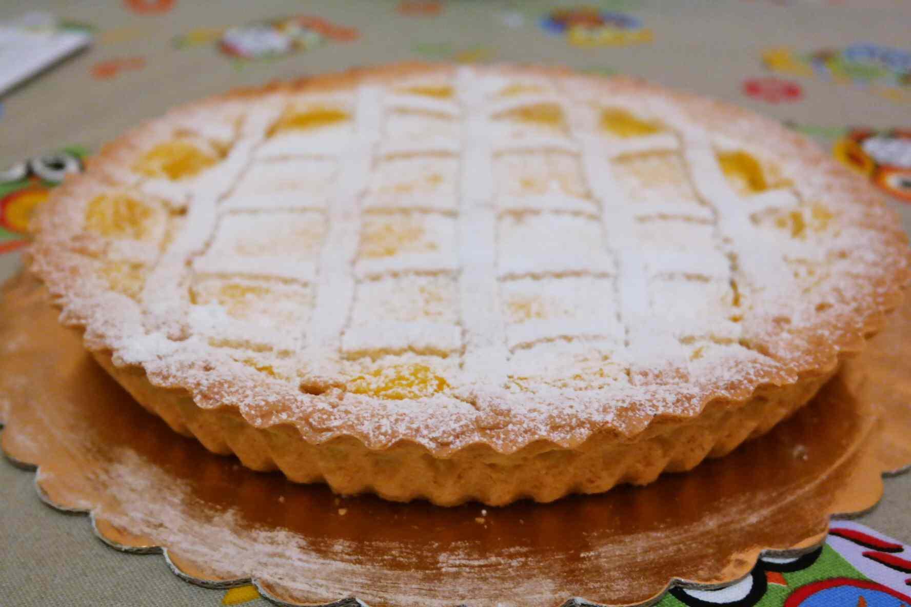 Ricetta: Crostata pasticciona alla crema